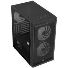 Корпус Aerocool Graphite-G-BK-v2 черный без БП ATX 6x120mm 1x140mm 2xUSB3.0 audio bott PSU