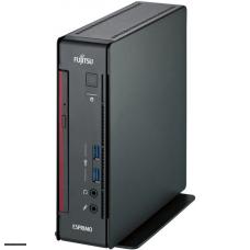 ПК Fujitsu ESPRIMO Q7010 MT PG G6400 (4) 4Gb SSD256Gb UHDG 610 DVD Windows 10 Professional 64 GbitEth WiFi BT 65W клавиатура мышь черный