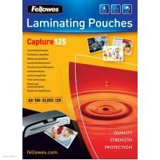 Пленка для ламинирования Fellowes 125мкм A5 (100шт) глянцевая 154x216мм CRC-53073 (FS-53073)