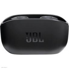 Наушники внутриканальные с микрофоном JBL Wave 100 TWS BT 5.0, до 5 часов, 2x5.1г, цвет черный