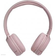 Наушники накладные с микрофоном JBL T500 BT 4.1, до 16 часов, цвет розовый