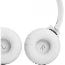 Наушники накладные с микрофоном JBL T510 BT 5.0, до 40 часов, цвет белый