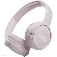 Наушники накладные с микрофоном JBL T510 BT 5.0, до 40 часов, цвет розовый