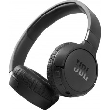 Наушники накладные с микрофоном JBL T660NC BT 5.0, до 44 часов, 1.2м, цвет черный