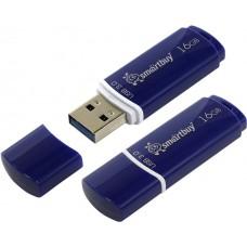 Накопитель USB 2.0 Flash Drive 16Gb Smartbuy Crown White (SB16GBCRW-W)
