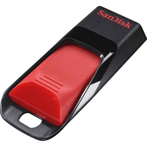 Накопитель USB 2.0 Flash Drive 32Gb Sandisk Cruzer Blade, Blue (SDCZ50C-032G-B35BE)