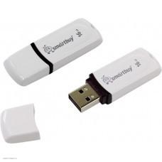 Накопитель USB 2.0 Flash Drive 16Gb Smartbuy Paean White (SB16GBPN-W)