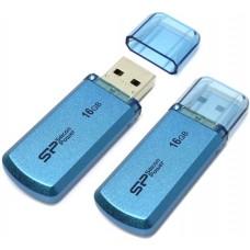 Накопитель USB 2.0 Flash Drive 16Gb Silicon Power Helios 101 Blue (SP016GBUF2101V1B)