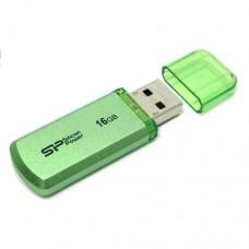 Накопитель USB 2.0 Flash Drive 16Gb Silicon Power Helios 101 Green (SP016GBUF2101V1N)