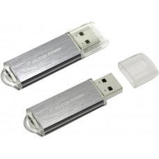 Накопитель USB 2.0 Flash Drive 32Gb Silicon Power Ultima II l-серия Silver (SP032GBUF2M01V1S)