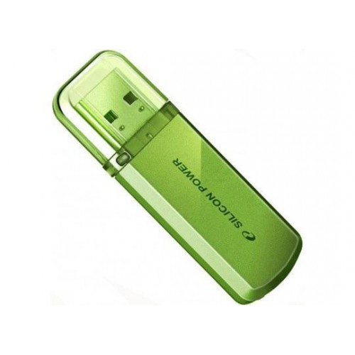 Накопитель USB 2.0 Flash Drive 32Gb Silicon Power Helios 101 Green (SP032GBUF2101V1N)