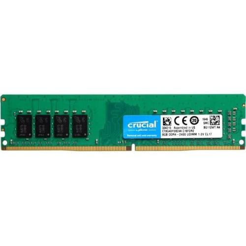 Модуль DIMM DDR4 SDRAM 8192Мb CL17 Crucial