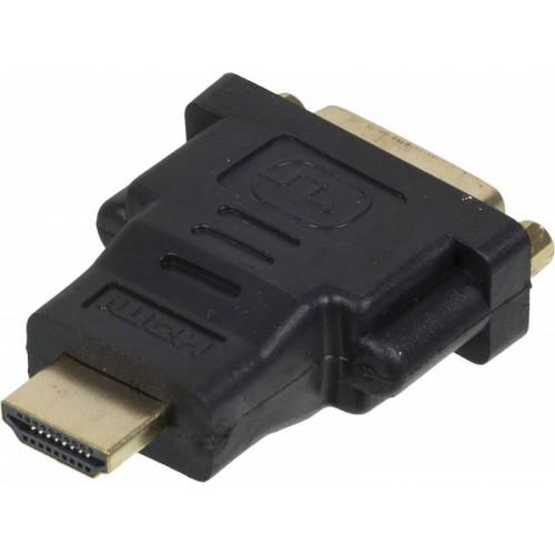 Переходник HDMI(m) -> DVI-D(f) GOLD NINGBO черный (CAB NIN HDMI(M)/DVI-D(F))