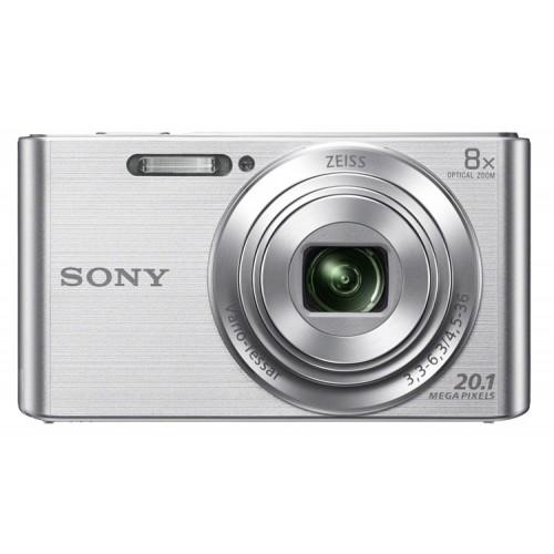 """Фотоаппарат Sony CyberShot DSC-W830 silver 2.7"""" (DSCW830S.RU3)"""