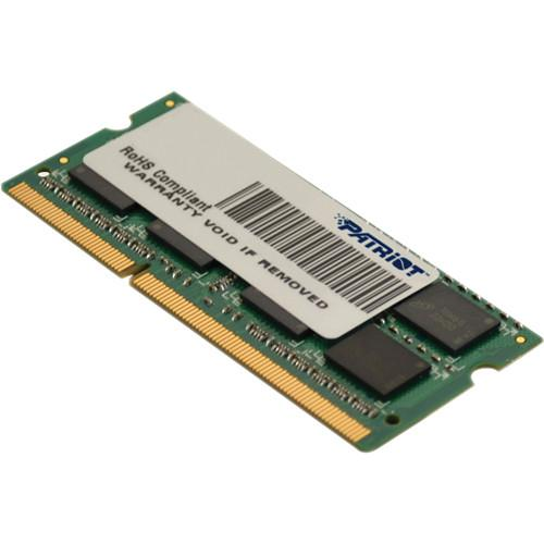 Модуль памяти SODIMM DDR3 SDRAM 4096 Mb CL11 Patriot