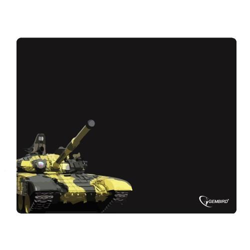 "Коврик для мыши Gembird MP-GAME13, рисунок- ""танк"", (437x350x3mm)"
