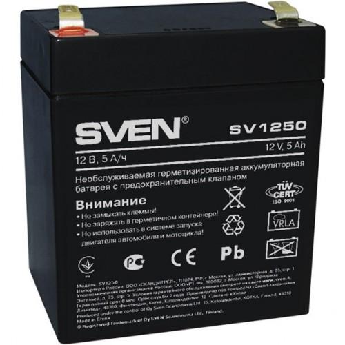 Батарея для ИБП SVEN 5A*h 12Вт для SVEN (SV-0222005)
