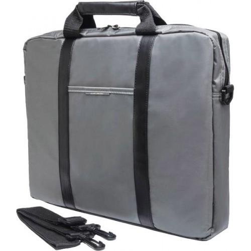 """Сумка для ноутбука PC PET Nylon Style, gray 15.6"""" (PCP-1003GR)"""