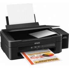 МФУ Epson L222 принтер/копир/сканер A4, 27чб/15цв, USB2.0 (C11CE56403)