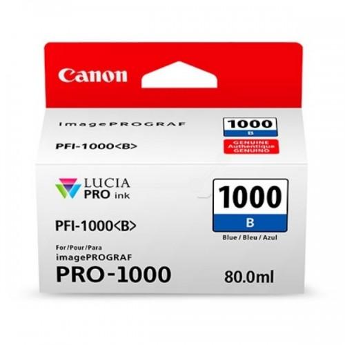 Картридж-чернильница PFI-1000B Canon  imagePROGRAF iPF1000 blue (0555C001)