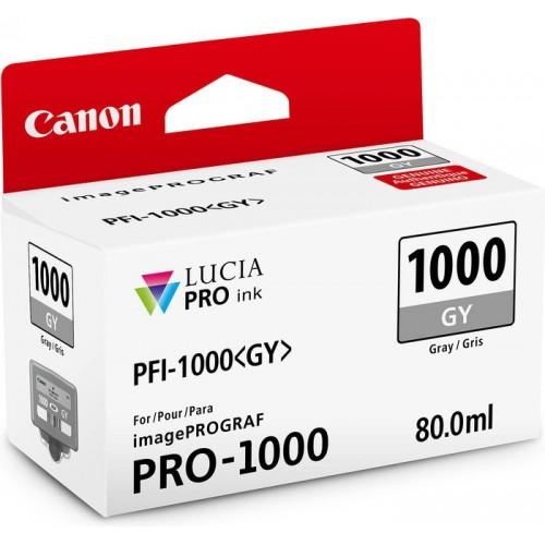 Картридж-чернильница PFI-1000GY Canon  imagePROGRAF iPF1000 Gray (0552C001)
