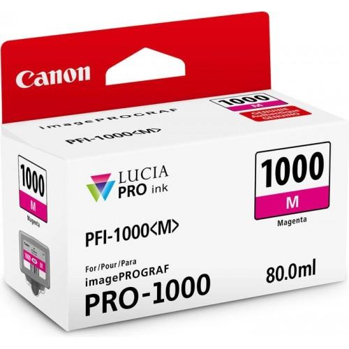 Картридж-чернильница PFI-1000M Canon  imagePROGRAF iPF1000 Magneta (0548C001)