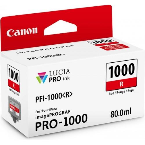 Картридж-чернильница PFI-1000R Canon  imagePROGRAF iPF1000 Red (0554C001)