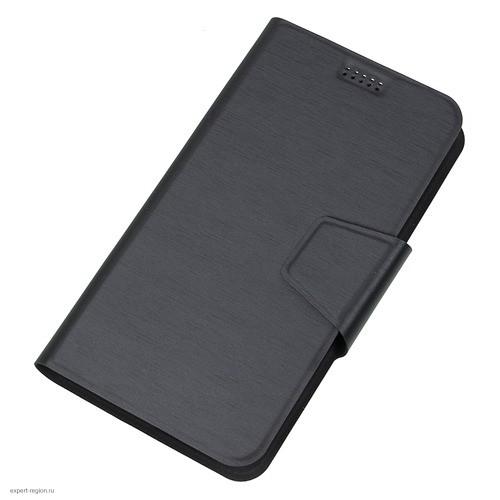 """Универсальный чехол клип-кейс REDLINE iBox UniMotion 5-6"""", черный [ут000007180]"""