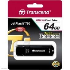 Накопитель USB 3.0 Flash Drive 64Gb Transcend 750K