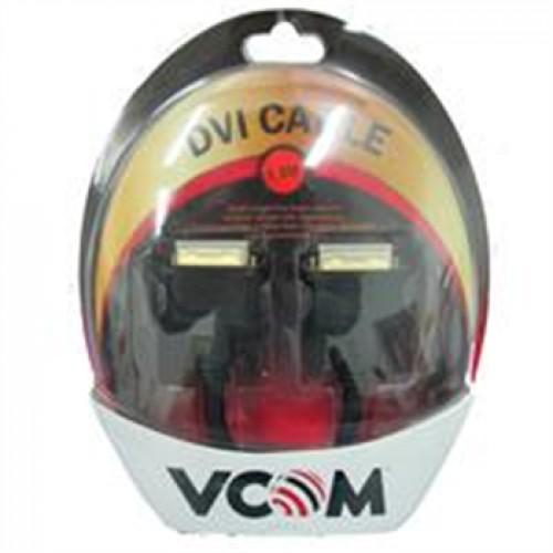 Кабель DVI-D 25M-25M Dual Link 1.8м TV-COM  экран, феррит.кольца (CG441D-1.8M)