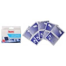 Набор BURO BU-W/D салфетки 5 влажных + 5 сухих