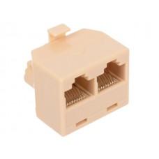 Адаптер проходной 5bites (LY-US024) RJ45 8P8C c M/2F