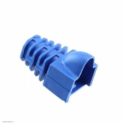 Колпачок защитный для RJ45 AMP Modular Plug Color Boots синий (569875-5)