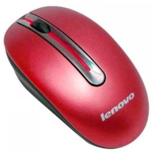 Манипулятор Lenovo N3903 Cherry Red (1000dpi) оптическая беспроводная, 3 клавиши