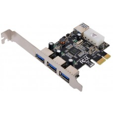 Контроллер Mini PCI-E USB 3.0 Speed Dragon FG-MU302A-1-BC01, 2xUSB 3.0