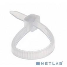 Стяжка нейлон.,неоткрыт., 150x3,0мм (за 100шт.) REXANT white (07-0150)