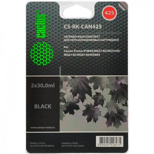 Заправочный набор Canon PIXMA iP4840 black (Cactus) 19.6 ml