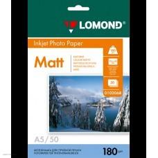Бумага Lomond для струйной печати A5/180г/м2/50л. листов, матовая (0102068)