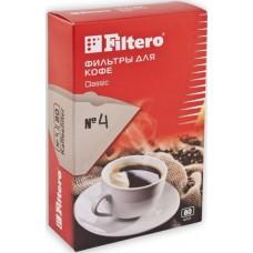 Фильтры для кофе Filtero №4/200 белый 200шт.
