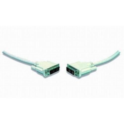 Кабель DVI-D 19M-19M Single Link  1.8м, экран, феррит.кольца, пакет (CC-DVI-6C)