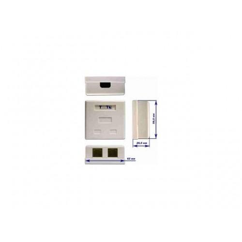 Розетка TWT-SM2-4512-WH белая