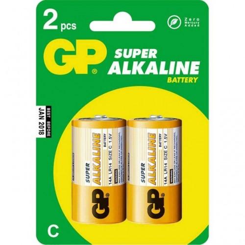 Батарейки GP 14A-BC2 2шт, 1.5V