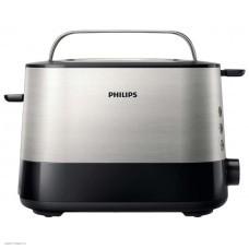 Тостер Philips HD 2635/90 серебристый\черный