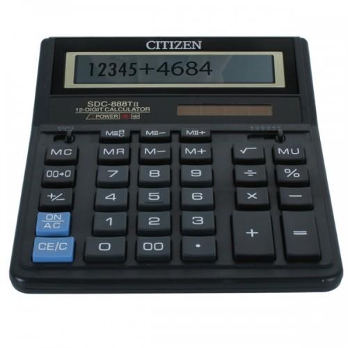Калькулятор Citizen SDC-888 (TII) бухгалтерский 12 разрядов (SDC-888)
