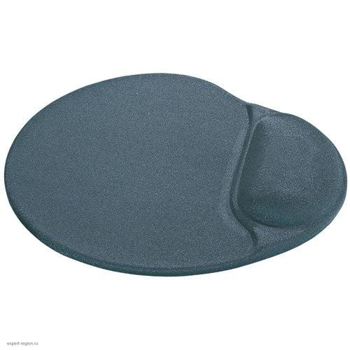 Коврик для мыши Defender с гелев.подушкой (Серая лайкра, нескользящ.основа) 260х225х5мм