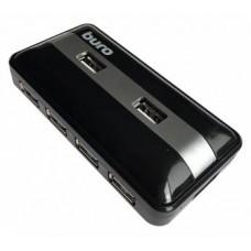 Концентратор USB 2.0 HUB 7-port Buro BU-HUB7-U2.0  черный