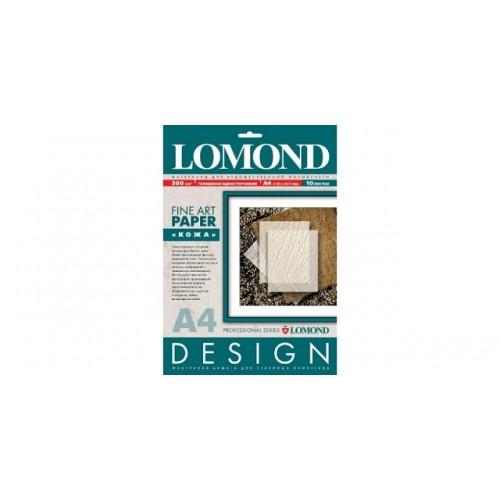 """Фотобумага Lomond, A4, 200 г,м2, """"Кожа"""" матовая, 10л (0917041)"""