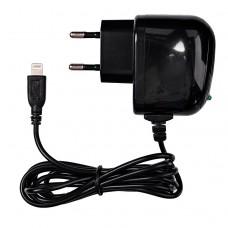 Сетевое зарядное устройство Brera Classic lightning 2A (black+black)