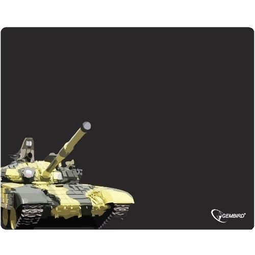 "Коврик для мыши Gembird MP-GAME10, рисунок- ""танк"", (250x200x3mm)"