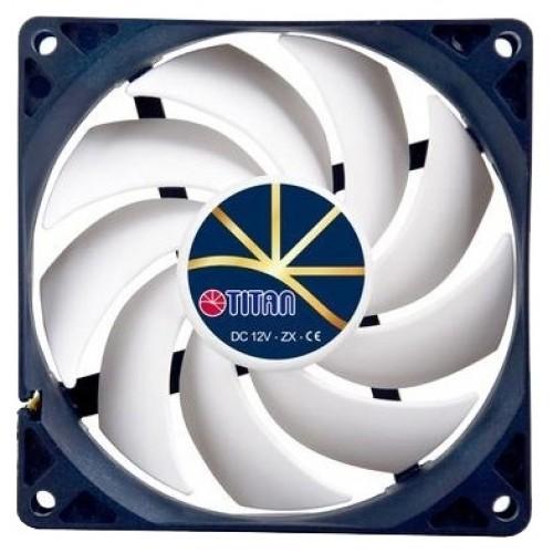 Вентилятор  92x92x25 Titan TFD-9225H12ZP/KU (92x92x25mm, 4pin 5-23dB 270-2700rpm)
